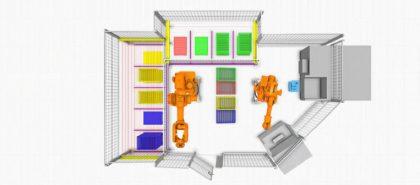 Mälardalen Egyetem: Ipari automatizálási tanulmányi projekt
